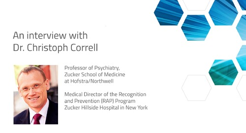 Interview with Dr. Cristoph Correll