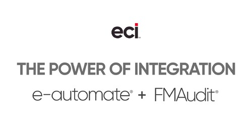 e-automate and FMAudit: The Power of Integration