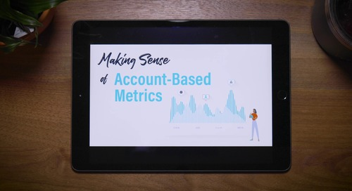 MakingSense of Account-Based Metrics