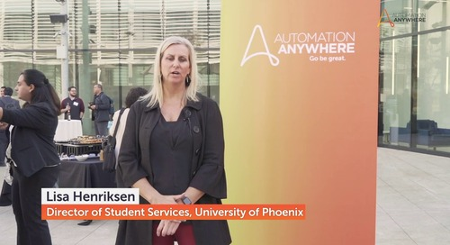 University of Phoenix Bot-A-Thon with Automation Anywhere