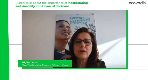 L'Oréal Talks About the Importance of Incorporating Sustainability Into Financial Decisions