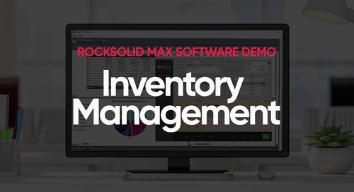 Inventory Management Demo Video