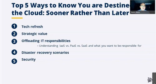 Reliable. Cost-Effective. Are You Destined for the Cloud?