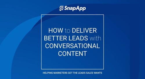 Webinar - How to Deliver Better Leads with Conversational Content