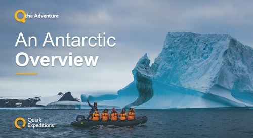 Antarctic 2021.22 Overview: Dream Now, Travel Later