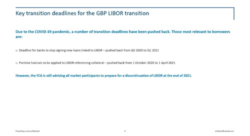 LIBOR transition: GBP update—18 May, 2020