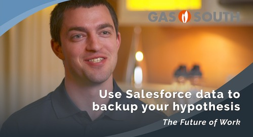 Gas South: Use Salesforce data to backup your hypothesis