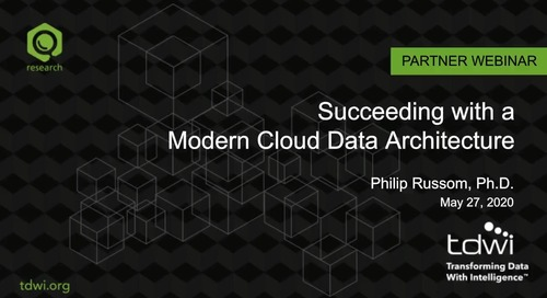 Succeeding with a Modern Cloud Data Architecture