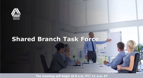 Shared Branch Task Force Webinar (October 2019)