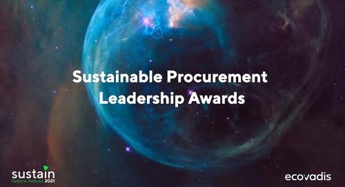 Sustainable Procurement Leadership Awards