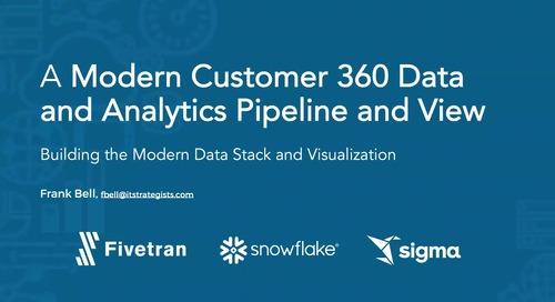 A Modern Customer 360 View