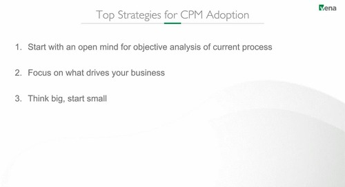Top Strategies for CPM Adoption