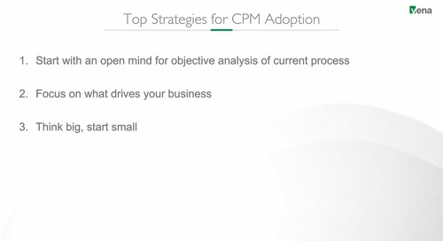 Preview: Top Strategies for CPM Adoption