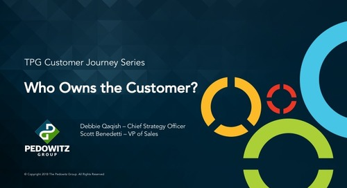 Who Owns the Customer Journey?