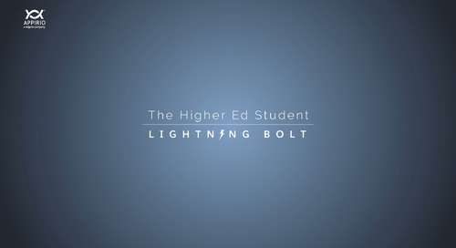 A Walkthrough of Appirio's Higher Education Student Lightning Bolt