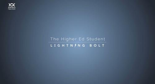 A Walkthrough of Appirio's Higher Education Student Lightning Bolt