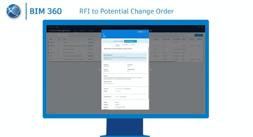 Connecting Workflows: RFI to Potential Change Order