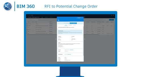 RFI to Potential Change Order