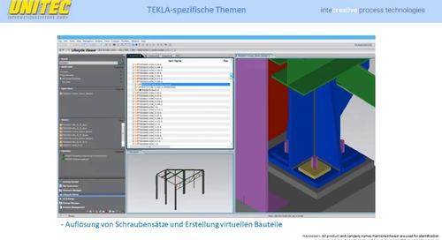 Tekla Structures - Integration mit Siemens Teamcenter
