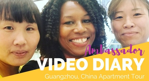 Apartment Tour in Guangzhou, China - TEFL Ambassador