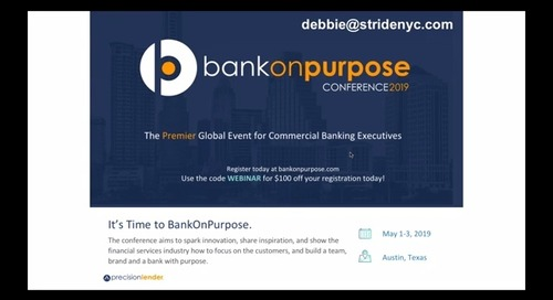 BankOnPurpose Webinar: The Diversity & Inclusion Advantage