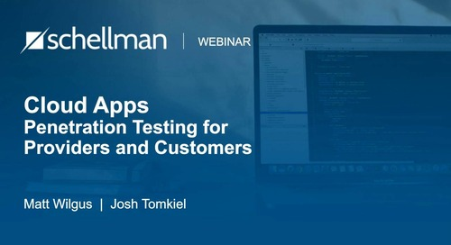 Cloud Apps - Penetration Testing for Providers  and Customers