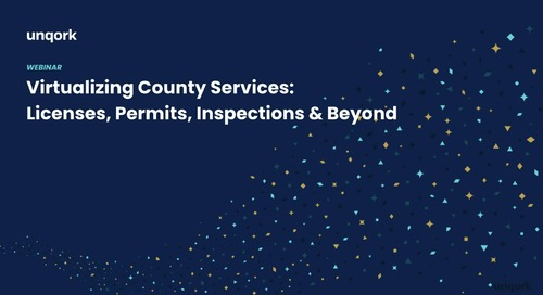Webinar: Virtualizing County Services - Licenses, Permits, Inspections & Beyond