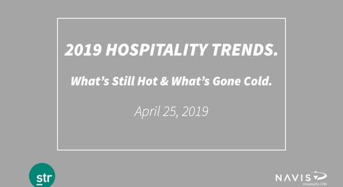 2019 Hospitality Trends with STR: What's Still Hot & What's Gone Cold