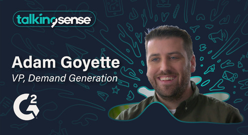 Modern DemandGen with Adam Goyette, VP of DemandGen at G2