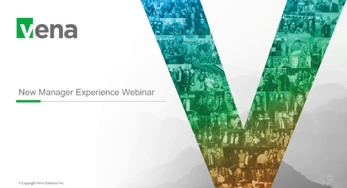 New Manager Experience Webinar