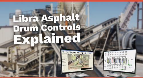 Libra Asphalt Drum Controls Explained