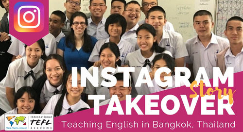 Day in the Life Teaching English in Bangkok, Thailand with Kittia Broadus