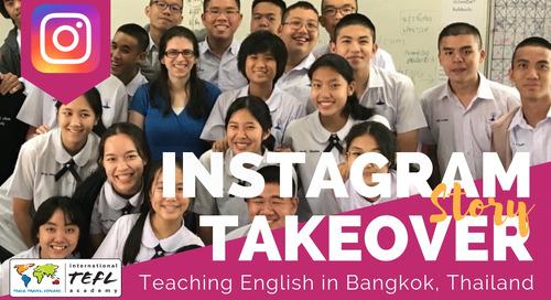 Day in the Life Teaching English in Bangkok, Thailand with Kittia Broadus