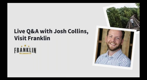 Live Q&A with Josh Collins, Visit Franklin