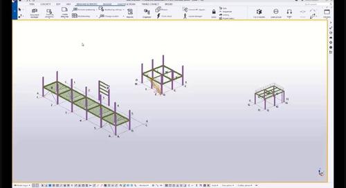 Tekla Structures - Zusammenarbeit mit Intergraph Smart 3D