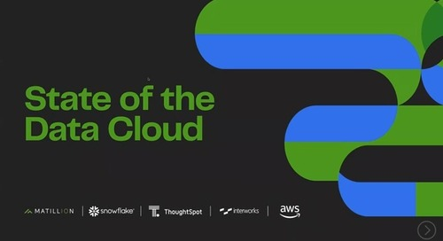 Webinar - The State of the Data Cloud