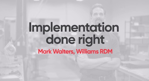 Williams RDM - M1 Implementation Done Right