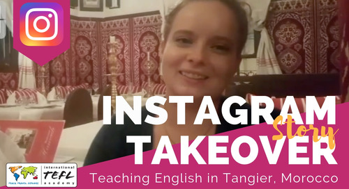 Day in the Life Teaching English in Tangier, Morocco with Emily Clark