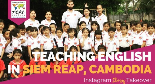 Day in the Life Teaching English in Siem Reap, Cambodia with Justin Morgan