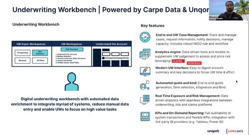 Webinar: Unqork + Carpe Data on Accelerating Innovation in P&C Underwriting