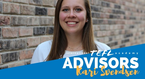 International TEFL Academy Advisor - Kari Svendsen