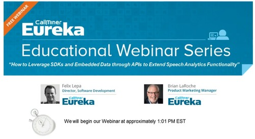 API Series 2: How to Leverage SDKs and Embedded Data to Extend Speech Analytics