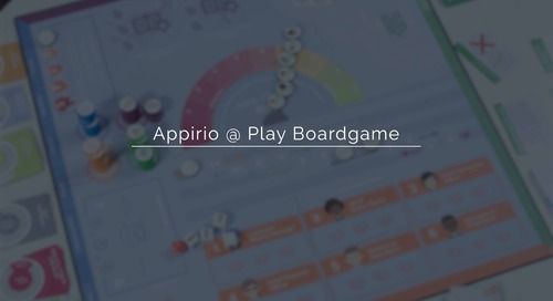 What is the Appirio @Play Board Game?