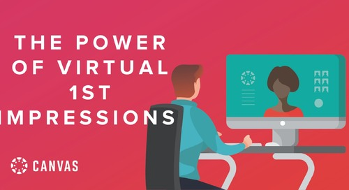 The Power of First Impressions - The Virtual Approach