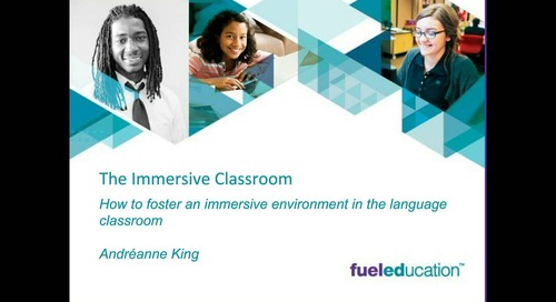 Webinar: The Immersive Classroom – World Language for K-12 Students