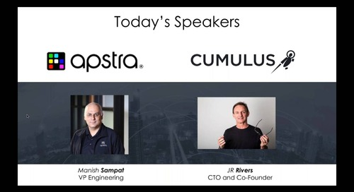 Webinar: Apstra and Cumulus on disaggregation