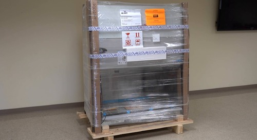 Arrival & Unpacking Your Class II Biosafety Cabinet