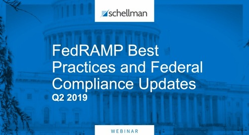 Webinar - FedRAMP Best Practices and Federal Compliance Updates