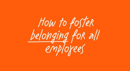 How do we best foster belonging for all employees - feat. Airbnb