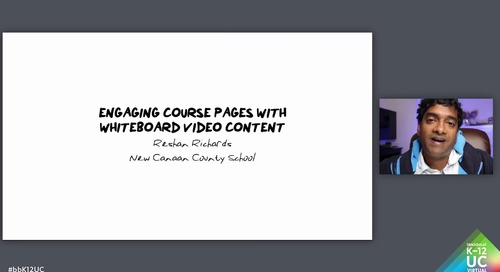 Engaging Course Pages with Whiteboard Video Content